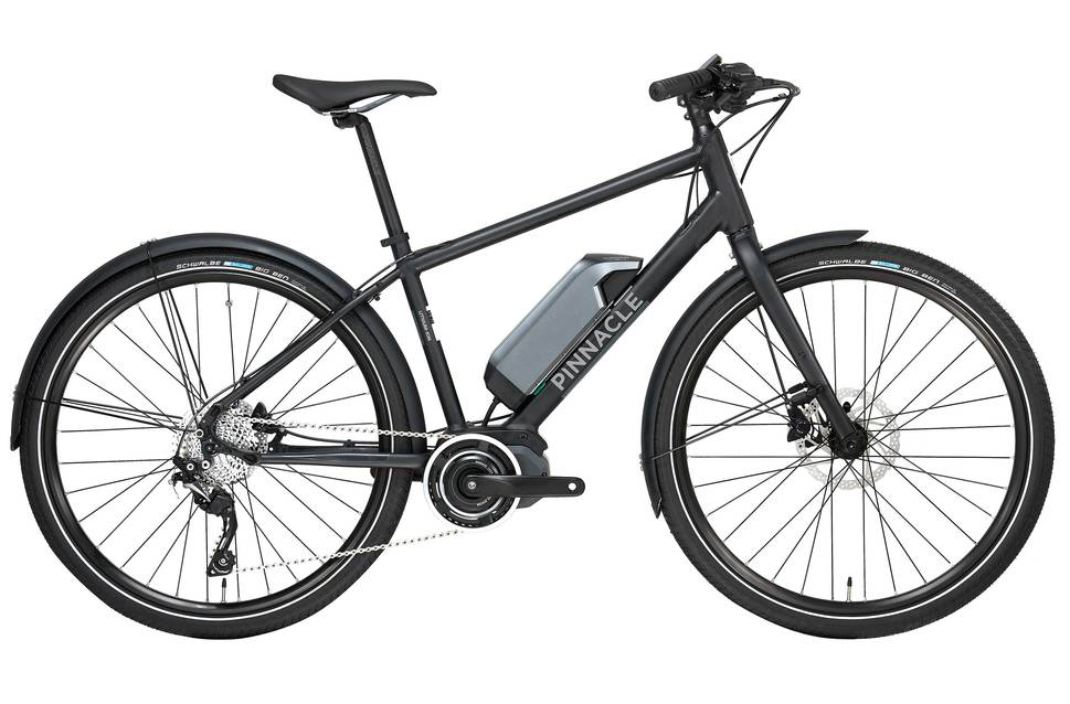 Pinnacle lithium ion 2017 electric bike black ev267144 8500 2