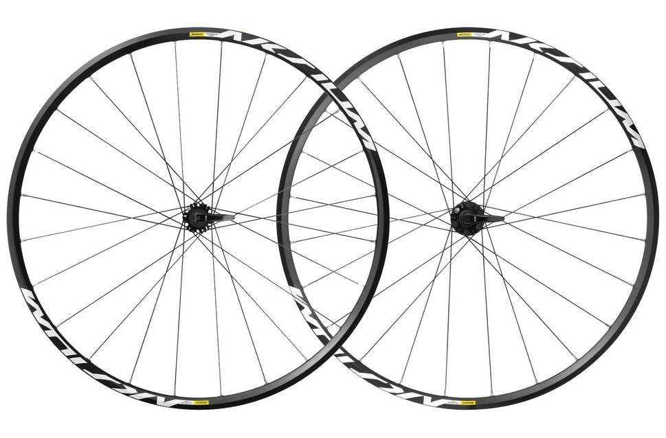 Mavic aksium 6bolt 700c road clincher wts wheelset 2017 black white ev287173 8590 1